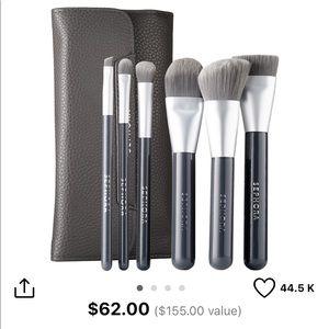 Sephora | Deluxe Charcoal Antibacterial Brush Set